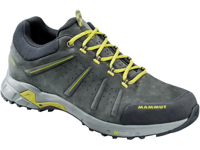 Mammut M's Convey Low GTX Shoes graphite-dark citron